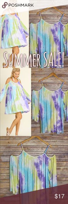 $SALE$ Summer dress! This dress is so so soft and flowey! On sale for sooo cheap, I am trying to get rid of some summer items! Grab it before it's gone! Brand new never worn! Umgee Dresses