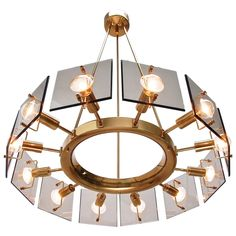 Twelve-Light Italian Chandelier by Crystal Arte   From a unique collection of antique and modern chandeliers and pendants at https://www.1stdibs.com/furniture/lighting/chandeliers-pendant-lights/