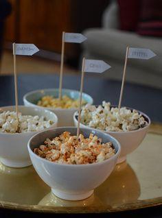 popcorn, smaksatta popcorn, popcorn med smak, kryddade popcorn, popcorn with flavour, party snack