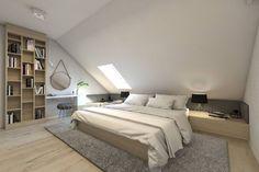 moderne Schlafzimmer von BAGUA Pracownia Architektury Wnętrz