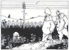 """""""Pierrot"""" by Aubrey Beardsley (1872-1898) via Wikipaintings."""