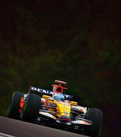 Fernando Alonso - Circuit de Spa-Francorchamps 2008
