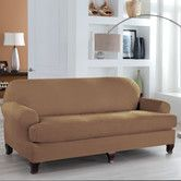 Found it at Wayfair - Tailor Fit Sofa T Cushion Slipcover