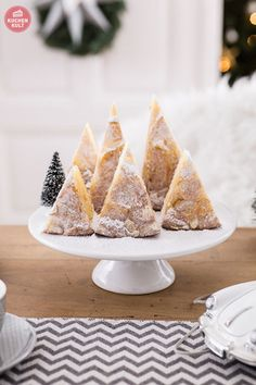 Kuchen zu Weihnachten Tannenkuchen Tannen