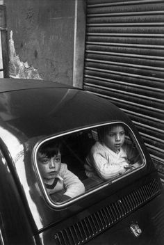 Back-seat drivers: Italy, 1980 (photo by Josef Koudelka)