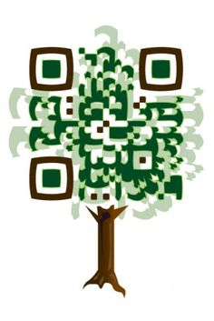 Custom QR Code Design : Deans' Nursery, Inc.