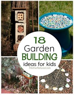 Garden building ideas for kids