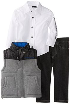 Calvin Klein Baby-Boys Infant Vest With White Shirt And Jeans, Gray, 12 Months Calvin Klein http://www.amazon.com/dp/B00CI1XO52/ref=cm_sw_r_pi_dp_meE3ub18KMJX0