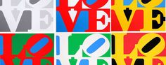 Art Reflecting by Marta Oliden: I love Robert Indiana