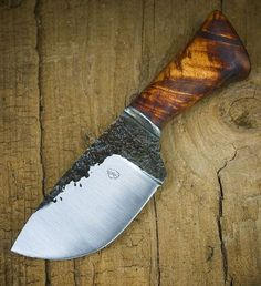 Hand forged knife from Big Rock Forge.