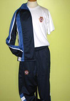 Uniforme deportivo San Juan Carmelitas pantalón y chaqueta. Tatiana ·  Uniformes deportivos 6aa847d4ab23f