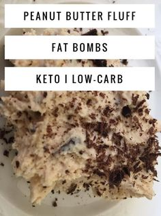 Peanut Butter Fat Bombs: Peanut Butter Fluff {keto / low carb} Peanut Butter Fluff Fat Bombs – These fat bombs are keto and low carb. Such an easy sweet treat when on the keto diet! Keto Desserts, Dessert Recipes, Dessert Ideas, Keto Friendly Desserts, Keto Snacks, Recipes Dinner, Snack Recipes, Weight Watcher Desserts, Ketogenic Recipes