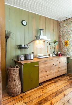 Maalikunstniku kujundatud agulikorter - Moodne Kodu