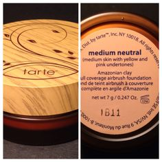 TARTE Amazonian Clay Full Coverage Airbrush Foundation NEW in Medium Neutral Retail $36.00 My price $22.00 OBO Airbrush Foundation, Powder Foundation, Makeup For Sale, Bareminerals, Bath And Body, Hair Care, Neutral, Fragrance, Retail