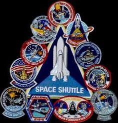 space mission patches | Space Shuttle Montage Mission Patch