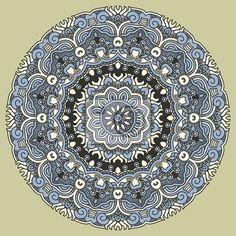 Fototapeta wektora projektowania elementu dekoracyjnego round - Kwiat • PIXERS.pl