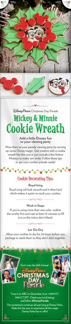 Add a little Disney fun to your Christmas Day Parade viewing party! #DisneyParade