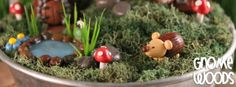 Super Cute Polymer Clay Creations with a Gnome Twist on Etsy by Gnome Woods! | Caravan of Beads - An Etsy Blog of Tips, Tutorials and Suppor...