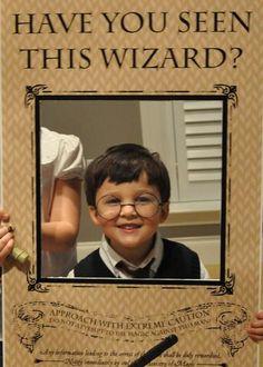 Harry Potter photobooth prop