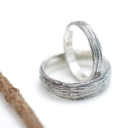 This listing is for one 3mm wide tree bark ring in Palladium sterling silver. Each ring is hand carved in wax (by me!) therefore each one is unique. When ordering, please tell me what size you need, as well as how you would like it finished- patina (the darkened one), shiny or satin (if nothing is noted, satin is the default finish). For questions about sizing - check out my Policies Page! more w... -- Learn more by visiting the image link.