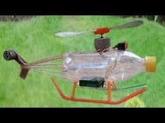 How to make an Electric helicopter motor-Very Simple hand made - YouTube