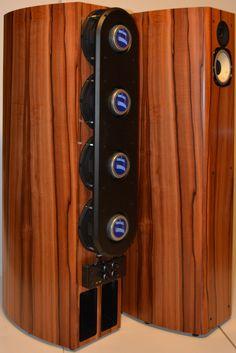 Horning Eufrodite Ellipse PM 65 speakers