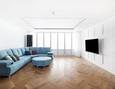 #잠실레이크팰리스 26평 #주방 #키친#주방인테리어#싱크대#제작가구#인테리어리모델링#아파트인테리어#모던#집스타그램#카민디자인#인테리어회사#한샘#마블타일#인테리어 Interior Styling, Living Design, Furniture, Living Room Modern, Sectional Couch, House, Interior Design, Home Decor, House Interior