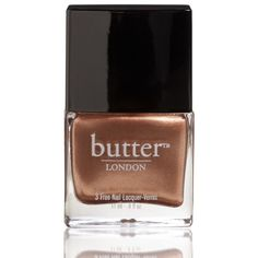 Butter London 3 Free Nail Lacquer - The Old Bill ($14) ❤ liked on Polyvore