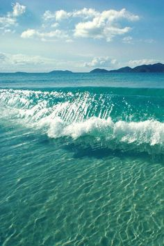 Bucket List #3 - Not sure where this is at, but I want to stand in clear, beautiful ocean water.