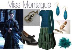 """Clara Oswin (Miss Montague)"" by anjilisladen on Polyvore"
