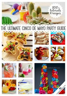 To help with your fiesta planning, the ULTIMATE Cinco de Mayo Party Guide!