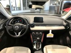 Mazda CX-3 with two tone interior. Anderson Mazda Rockford, IL