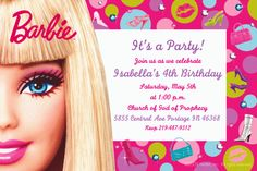 A personal favorite from my etsy shop httpsetsylisting barbie invitation filmwisefo
