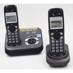 52.00$  Buy now - http://ali4fw.shopchina.info/go.php?t=32755651151 - 2 PCS Digital Cordless Phone KX-TG9331T Home Wireless Base Station Cordless Fixed Telephone For Office Home  #aliexpressideas