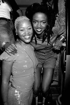Eve and Lauryn