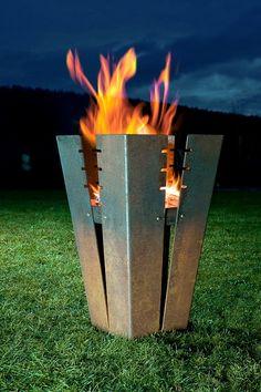 Fesselnd Feuerkorb Feuerschale Fuji Keilbach Feuerschalen Garten