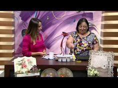 Mulher.com 02/03/2015 Suporte com vasos de cerâmica por Rose Rodrigues Parte 1 - YouTube