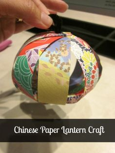 This DIY Chinese paper lantern project is a great way to celebrate the Chinese New Year with your children. They are sure to love this Chinese lantern craft Chinese New Year Crafts For Kids, Chinese Crafts, Fun Crafts For Kids, Toddler Crafts, New Year's Crafts, Paper Crafts, Chinese Paper Lanterns, Diy Paper Lanterns, Lantern Crafts