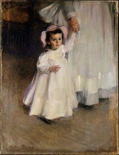 Cecilia Beaux (American, 1855–1942). Ernesta (Child with Nurse), 1894. The Metropolitan Museum of Art, New York. Maria DeWitt Jesup Fund, 1965 (65.49)