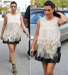 Kim Kardashian: Celebrity Street Style 2012