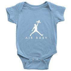 Air Baby Onesie (white font)