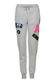 Badged Jogger - New In This Week - New In - Topshop