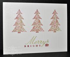 Stamping Inspiration: CRAFT SHOW CHRISTMAS MAKE & TAKE...