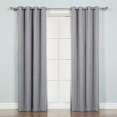 This manufacturer introduces basic thermal insulated blackout curtain. Save both money and energy as these laboratory tested curtains will keep your home cozy during the cold winters. Blackout curtains are th Rod Pocket Curtains, Grommet Curtains, Blackout Curtains, Drapes Curtains, Curtain Panels, Drapery, Striped Room, Floral Room, Custom Drapes