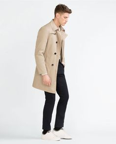 Image 1 of TRENCH COAT WITH DETACHABLE LINING from Zara