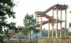 Aussichtsturm aus Holz für öffentliche Bereiche BELVÉDÈRES (LC) Pro Urba