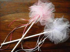 I'm a Yarner: Tulle Fairy Wand Tutorial