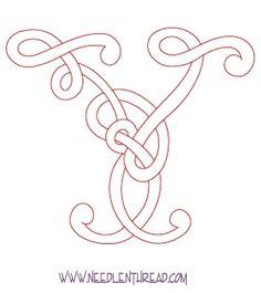 Celtic letter Y