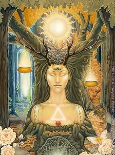 The Art | ravynnephelan Tarot, Fantasy Kunst, Fantasy Art, Tattoo Deus, Tarrot Cards, Michele Lee, Chakra Art, Pagan Art, Goddess Art