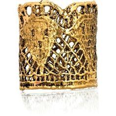 Wedding Ideas: gold-cuff-bracelet